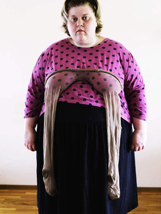 Смелые автопортреты девушки, борющейся за фото без прикрас