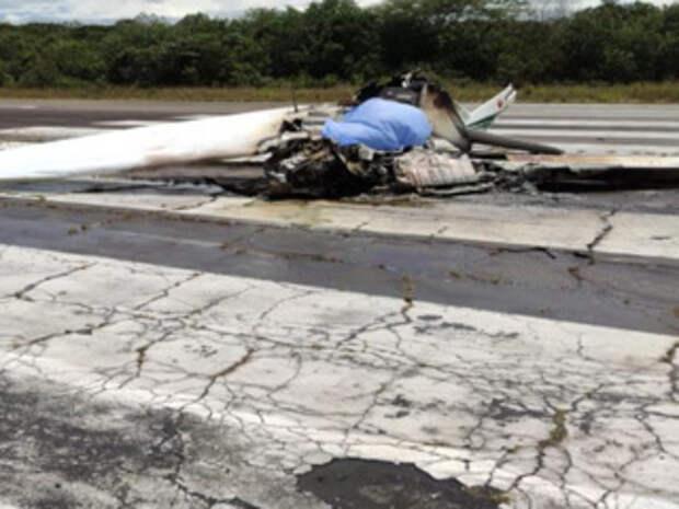 В Колумбии во время учебного полета погиб полицейский