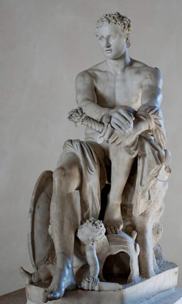 Арес - бог войны.
