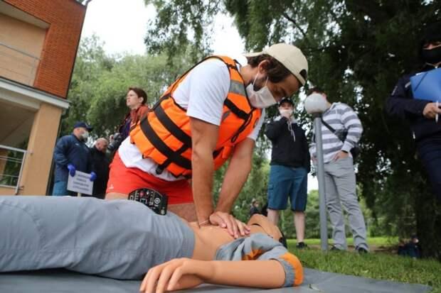На поисково-спасательной станции «Строгино» состоялся смотр-конкурс среди общественных спасательных постов СЗАО