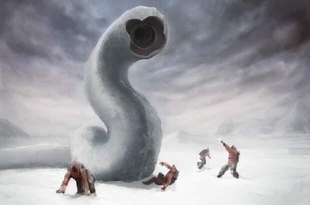 Плазмозавры Антарктиды. Один вопрос: не является ли эта опасная форма жизни разумной?