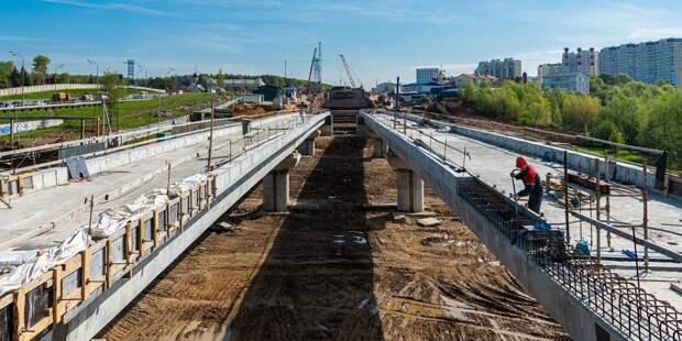 Проходку тоннелей до района Северный завершили на 70%
