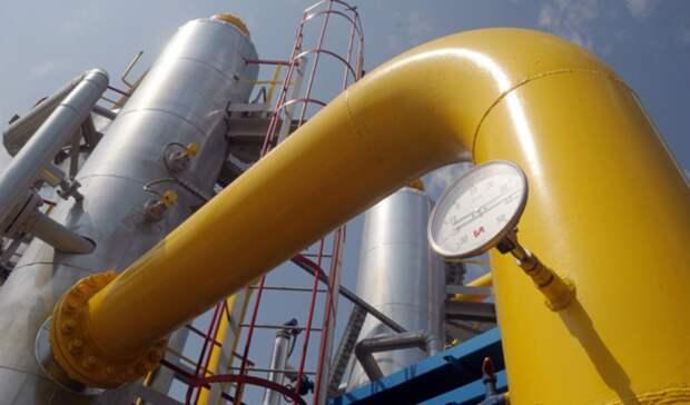 На44% упал транзит российского газа через Украину засемь месяцев