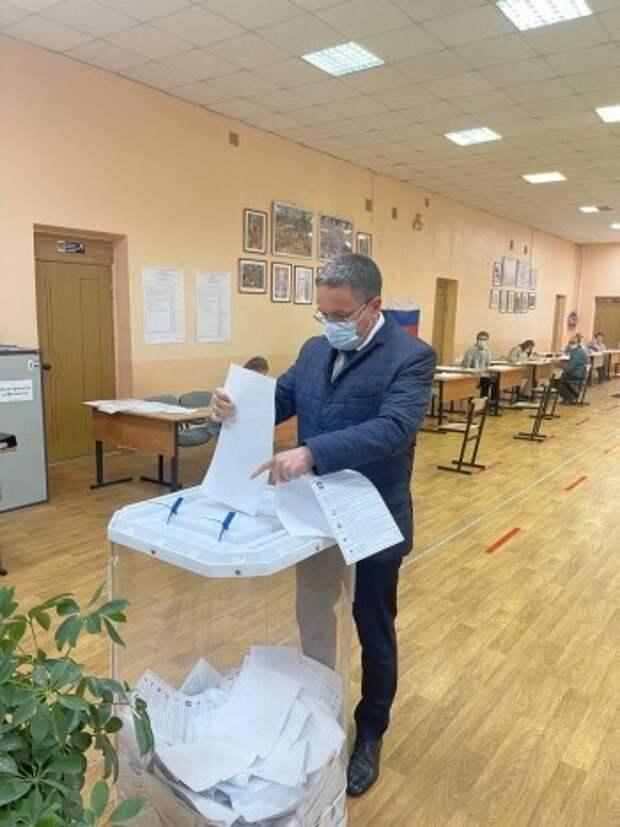 В первый день голосования явка избирателей в Калужской области составила более 17 процентов