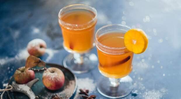 Глинтвейн «Горячий сидр и пряный мандарин»