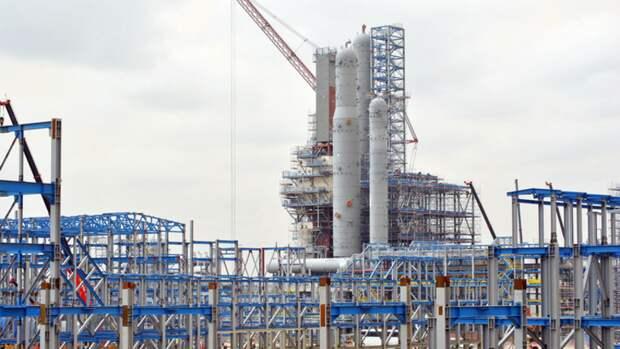 НаАмурском ГПЗ начался монтаж технологического оборудования