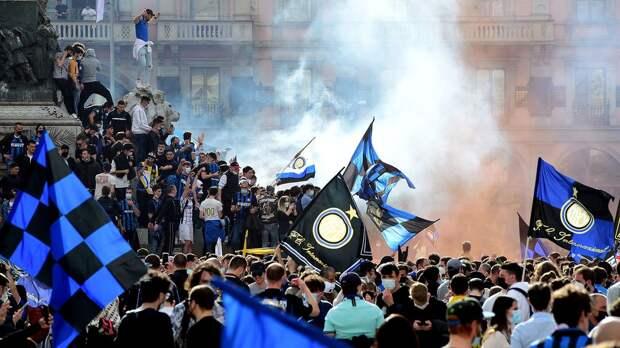 В Милане забили на коронавирус – город празднует чемпионство «Интера». 9-летняя гегемония «Юве» в Серии А прервана