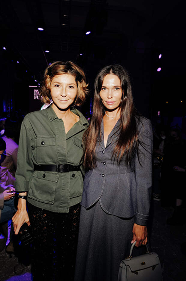 Виктория Полякова и Полина Аскери