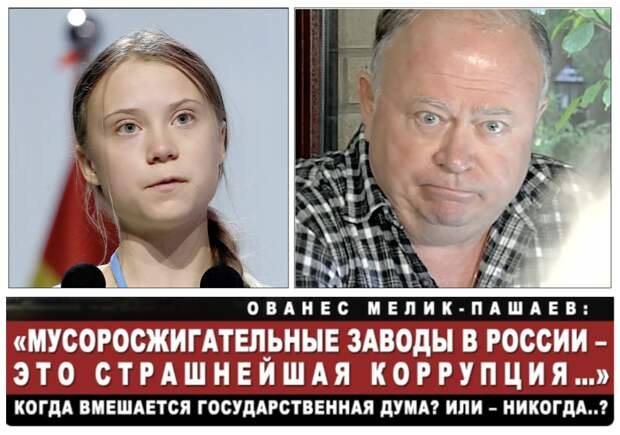 Из-за дефицита экологов-правозащитников в России вместо Греты Тунберг работает Андрей Караулов