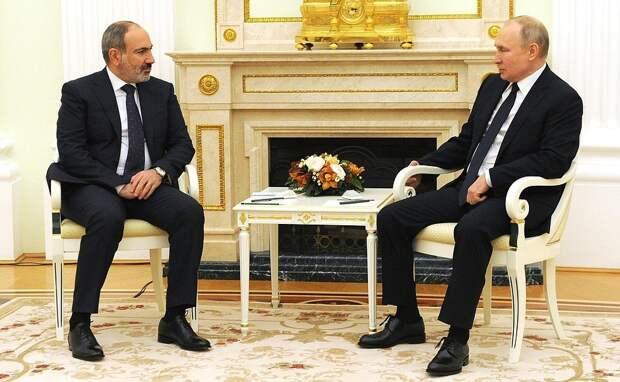 Прорыва не будет: эксперты о встрече Путина и Пашиняна