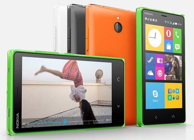 Microsoft оценила новый Android-смартфон Nokia X2 в 6000 рублей