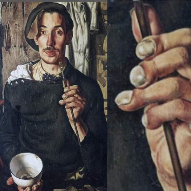 Дик Кет, художник с барабанными палочками