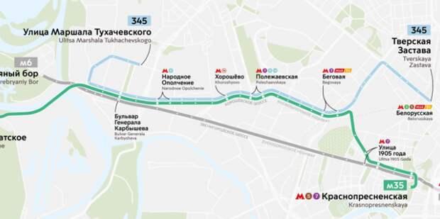 Автобус М6 через Щукино пойдёт по-новому