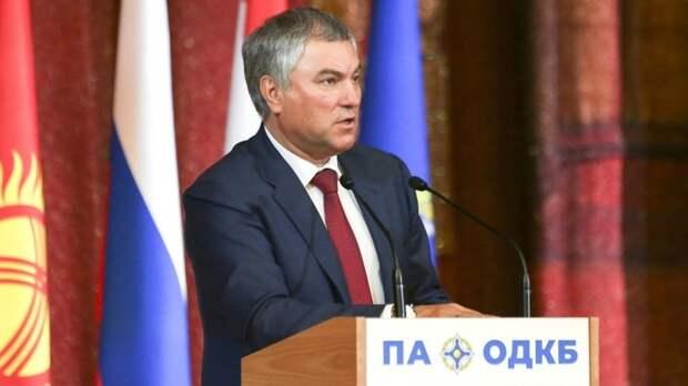 Володин заявил, что Украина не способна адекватно оценивать ситуацию вДонбассе