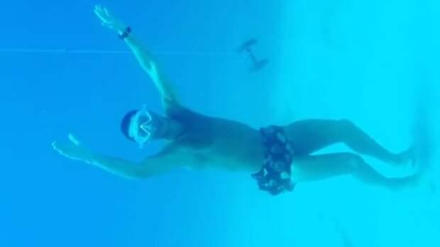 Роналду нырнул на глубину 14 метров в море: «Зовите меня Нептуном»