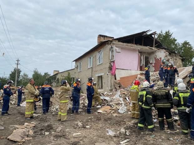 В Липецкой области взрыв бытового газа - разрушена половина жилого дома, погибли люди