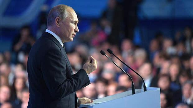 Съезд ЕР пройдет с ограничениями, Путин примет в нем участие лично