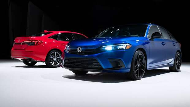 Хонда Цивик 2022 Седан крупным планом!