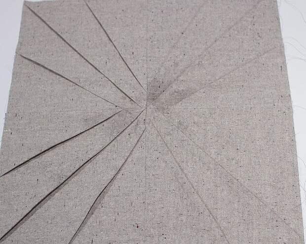 Подушка со складками (Diy)