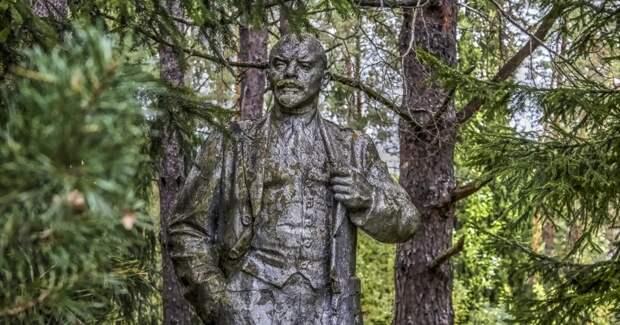 Детский лагерь, Ленин в лесу