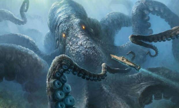 5 темных созданий из глубин океана