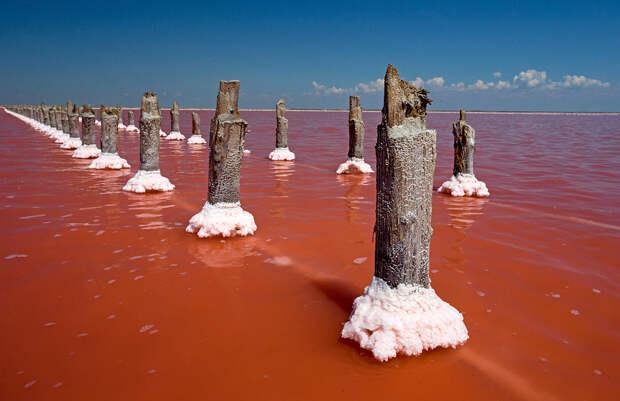 Разноцветные озера России, созданные неведомыми художниками (ФОТО)