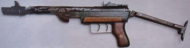 Пистолет-пулемет Сергеева в Центральном музее Вооруженных Сил. Фото: popgun.ru