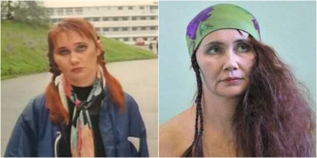 """Елена Ворончихина в фильме """"ДМБ"""" (2000) и в наши дни"""