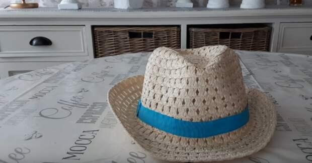 Оказывается соломенная шляпа очень полезная вещь. Посмотрите как ее можно отлично использовать