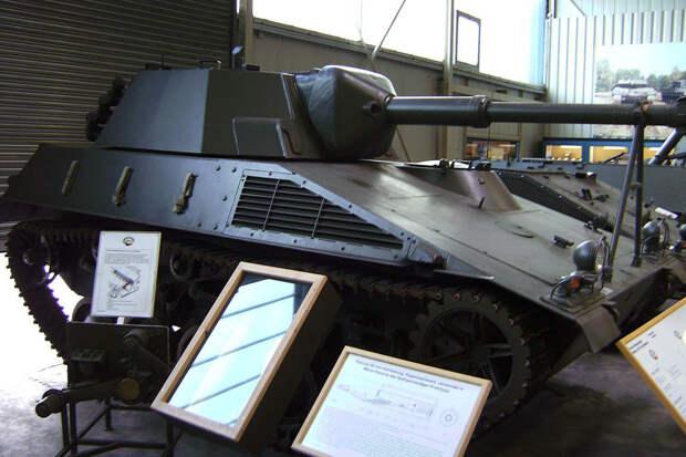 Германия безуспешно пыталась создать легкий танк в 1950-х