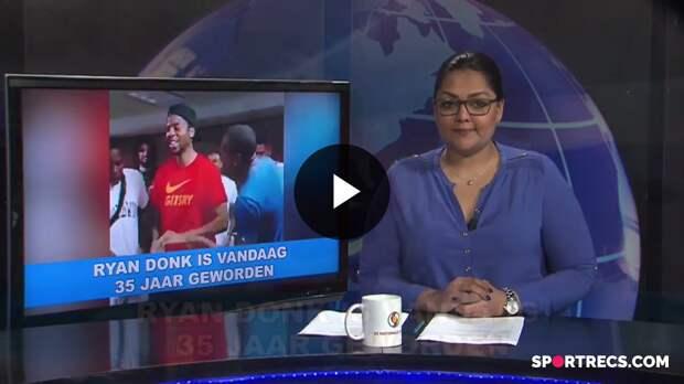 Dean Gorré in STVS Journaal