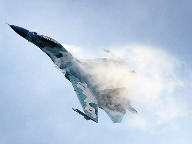 Российский истребитель отогнал отграницы французские «Миражи» (ВИДЕО)