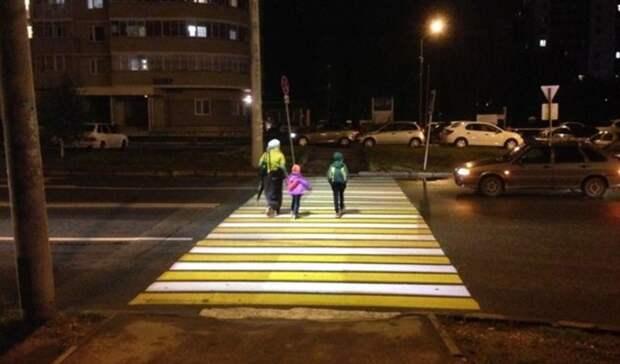 К1октября вОренбурге появятся 16 «умных» пешеходных переходов