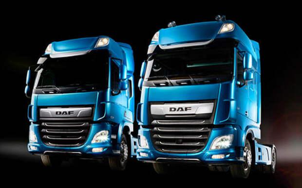 Новые тягачи DAF CF и XF: красивые и умные