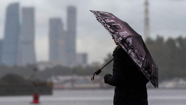 В Москве в четверг ожидается дождь и до +22°C