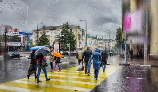 Трехдневный дождь вылил наМоскву двухнедельную норму осадков