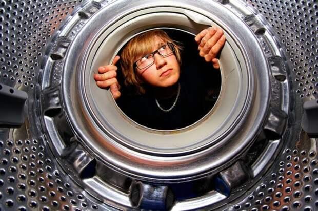 Легкий способ очистить стиральную машинку от налета