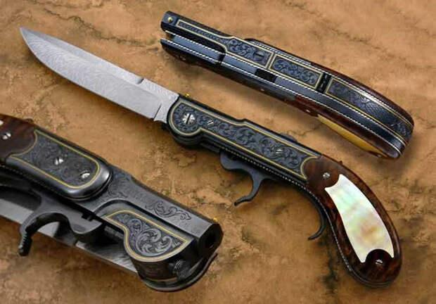 Супер оружие – кинжал-кастет-револьвер «Апач»