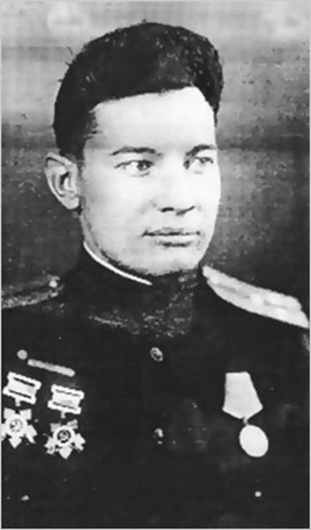 Старший лейтенант Г.А. Касьян. 1943 г.