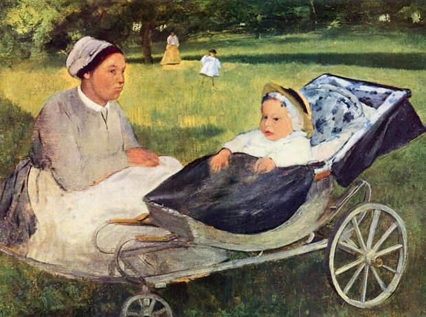Винтажные детские коляски