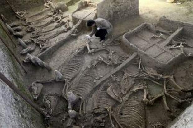 Древние китайские захоронения
