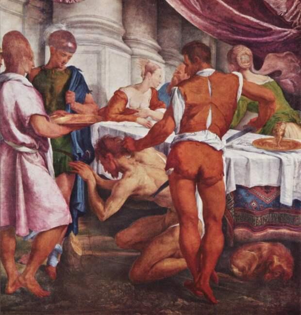 Якопо да Понте. Усекновение главы Иоанна Предтечи