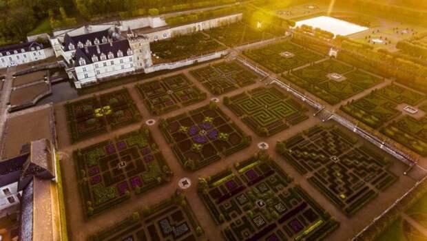 Кухонные сады замка Вилландри – самый красивый огород в мире!
