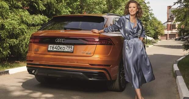 Скандал с Audi принес Ксении Собчак новые рекламные контракты