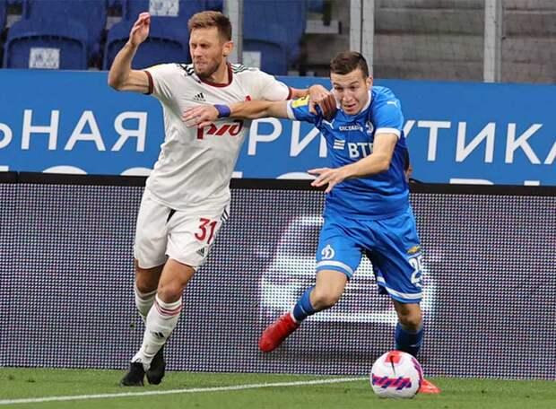 В московском дерби «Динамо» и «Локомотив» сыграли вничью