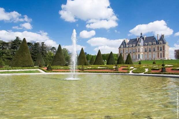 Ханами близ столицы Франции