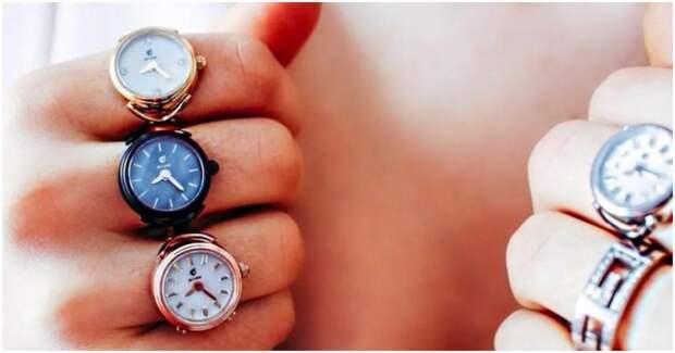 Забудьте о запястьях, пальцы — новое место для ношения часов