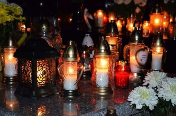 свечи, поминание
