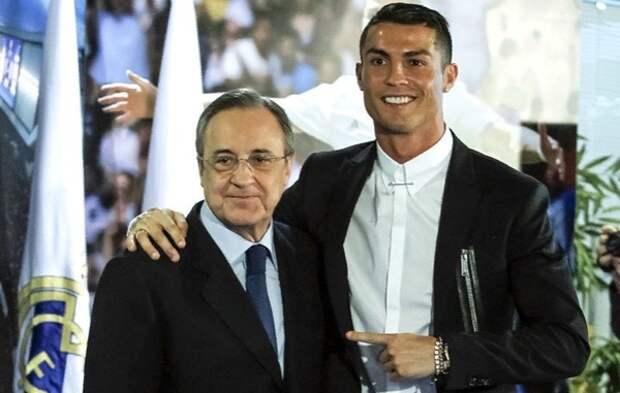 Стали известны подробности ухода Криштиану Роналду из «Реала»