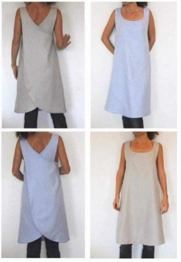 Простые идеи летней одежды — это не только легко сшить, но и легко носить! Часть 2